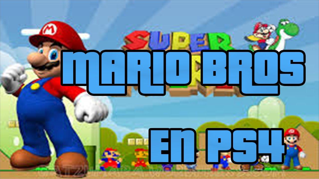 Como Jugar A Mario Bros En Ps4 Youtube