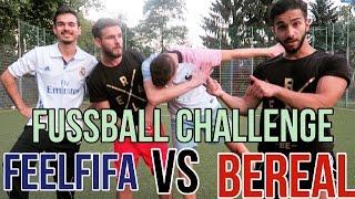 FUSSBALL CHALLENGE  + BESTRAFUNG VS FEELFIFA #BeReal