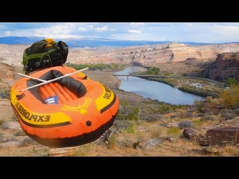 2-Day Moab Packrafting Adventure (Arches National Park & Colorado River)