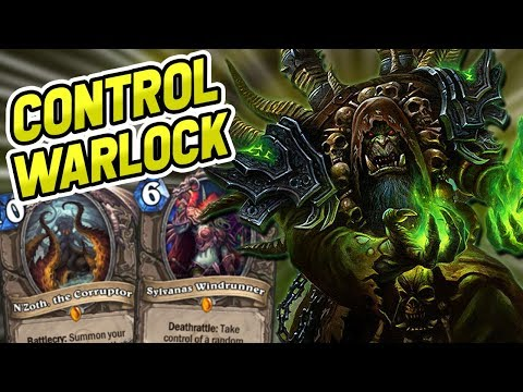 CONTROL WARLOCK IS BACK!? | Doom in the Tomb Event | Saviors of Uldum | Hearthstone