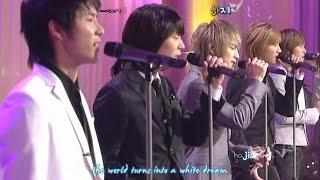 DBSK 동방신기 - You're My Miracle 세상에 단 하나뿐인 마음 [eng + rom + hangul + karaoke sub]