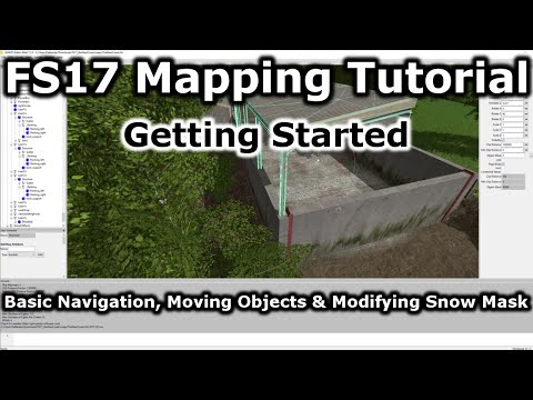 How to Make Basic Changes on Map | Farming Simulator 17