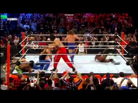 WWE royal rumble 2012 highlights (HQ)