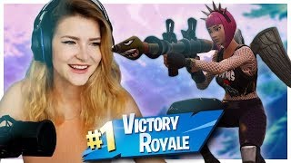 FORTNITE ROCKET RIDING FOR THE WIN!