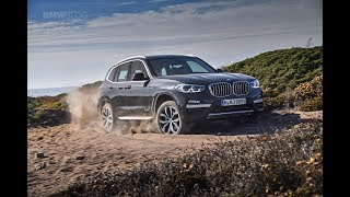 Offroad with the new 2018 BMW X3