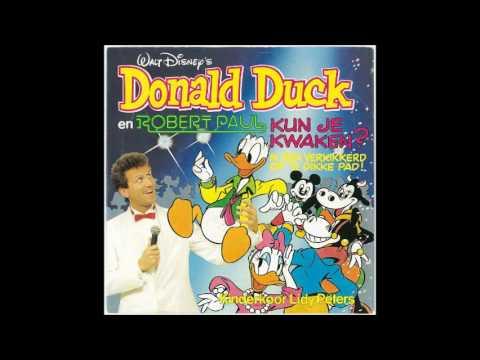 Robert Paul & Donald Duck Kun je kwaken