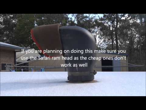 How to Pressurise a Jayco Swan - Stop Dust Getting inside a Caravan