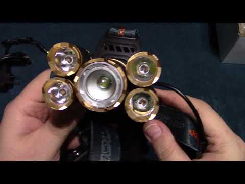 The SGODDE Headlamp Review!