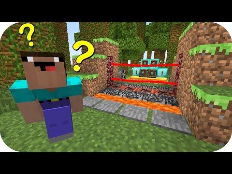 NOOB VS CAMINO DE TRAMPAS MINECRAFT TROLL + ROLEPLAY - Видео из Майнкрафт (Minecraft)