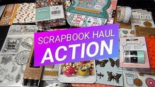 Compras Scrapbook haul | Action Bélgica | Yoltzin handmade