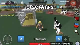 My first gameplay video (roblox assasin)
