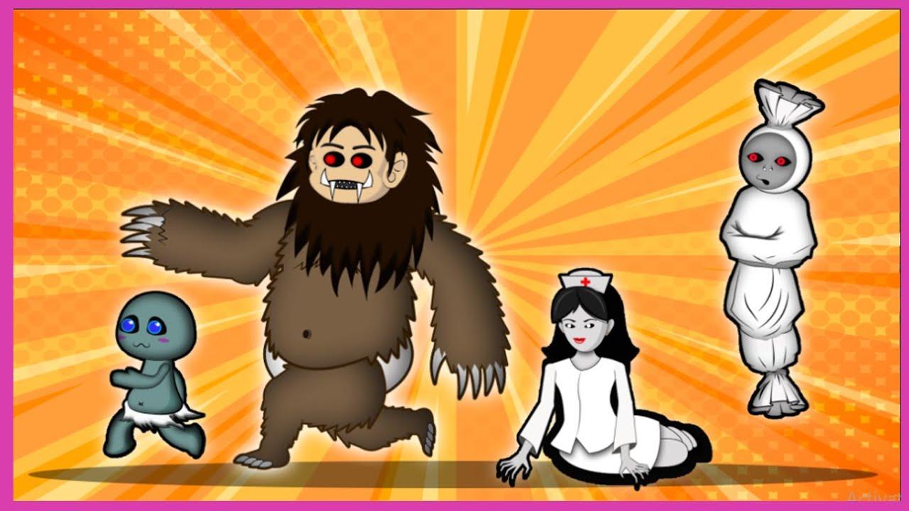 Gambar Lomba Lari Animasi Ada Lomba