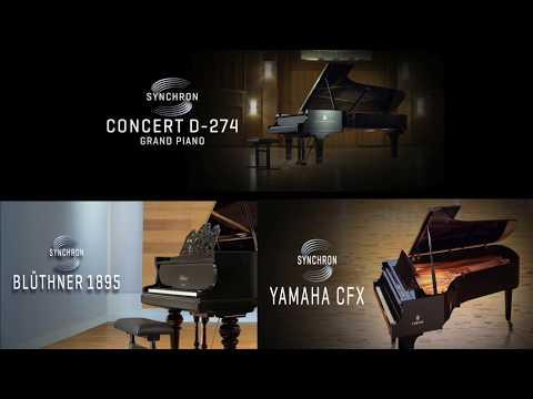VSL Synchron Pianos Comparison, By Stephen Limbaugh