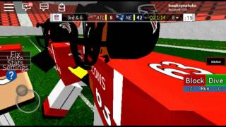 This horrible qb omg he stinks/Legendary football roblox