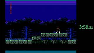 Castlevania 2: Dracula's Curse JP FDS speedrun Any% in 5:41 (4:38 without loads)