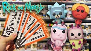 Rick and Morty Season 4 Funko Pop Hunting! Video