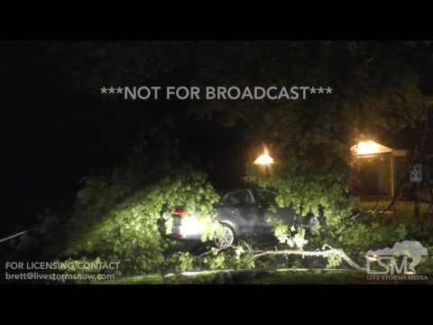 6-16-17 Beatrice, Nebraska Tornado Warned Storm - Damage