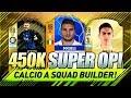 UNREAL 450K CALCIO A FIFA 18 Squad Builder w/ Custom Tactics & Player Instructions