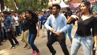 Flash mob at Nit Calicut for Ragam 2016