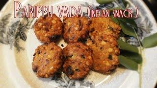 Parippu vada (indian snack recipe) Thumbnail