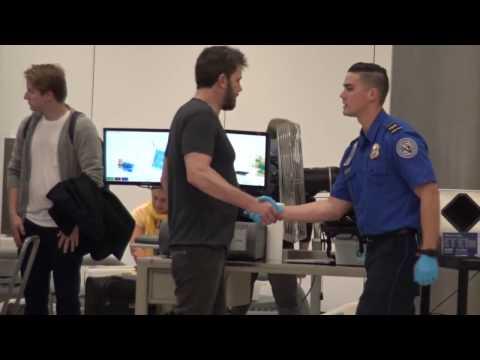 No VIP treatment! Ben Affleck is frisked by TSA at airport just like any regular guy