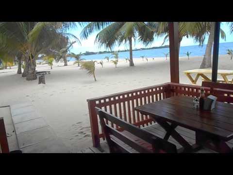 Arriving into Placencia (Belize)