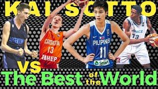 Kai Sotto FIBA World Cup U17 Matchup Preview