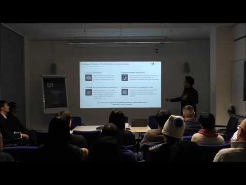 """Training on Use Cases in Financial  Services""  Blockchain - Crypto Meetup: Hosted by DarcMatter"