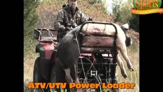 Atv Utv Sxs Bow Rifle Hunting Parts Racks Ramps Lifts Deer Hunt Blind Portable Trailer