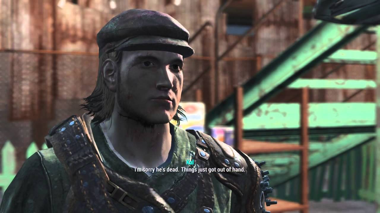 Fallout 4 Apologizing for killing Nelson Latimer