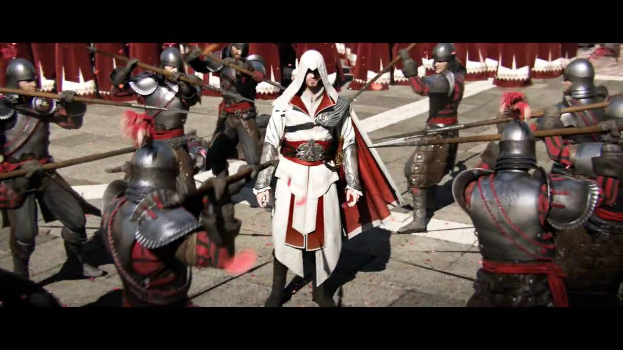 Assassin S Creed Brotherhood E3 Premiere Trailer Ubisoft Na