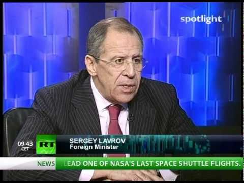 FM Lavrov on RT: From WikiLeaks to wine, from START to smoking
