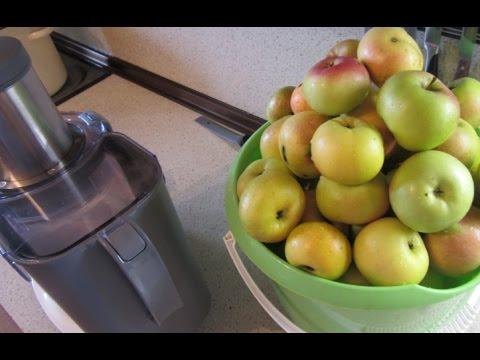 Яблочный сок на зиму - YouTube