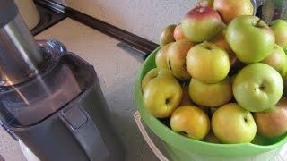 видео Как правильно выжать сок на соковыжималке