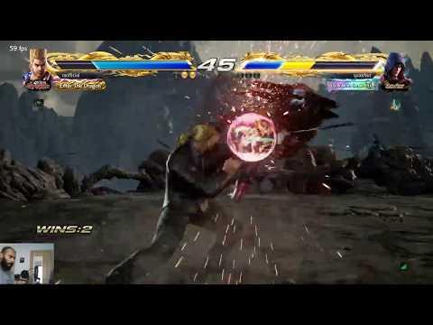 Tekken 7 Twitch Live Stream Clips That Paul Combo Finish