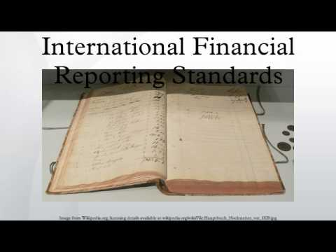 CFA Level I Financial Reporting Standards Video Lecture by Mr. Arif irfanullah