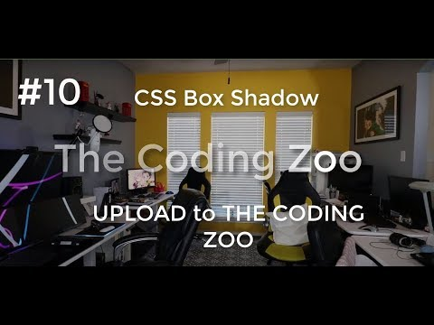 Learn HTML, CSS, And JavaScript -   Box Shadow, Uploading To Coding Zoo - Lesson 10 For Beginners