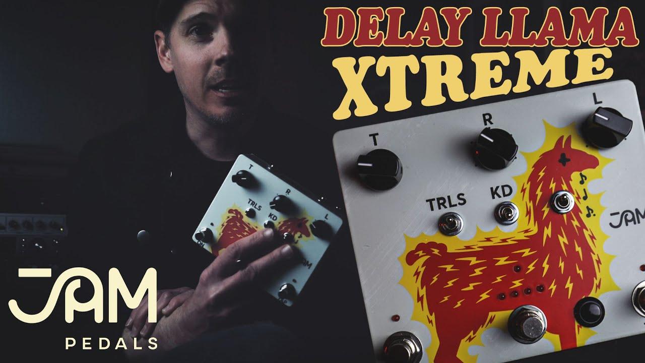 Jam Pedals Delay Llama Xtreme 4 Preset Capability