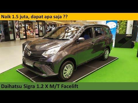 Daihatsu Sigra 1.2 X Facelift [B400] review - Indonesia