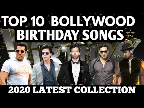 Top 10 Bollywood Birthday Songs 2020 Latest Collection Happy Birthday Sacred Media House Youtube