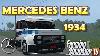 "[""MERCEDES BENZ 1934"", ""Farming Simulator 2015"", ""mod"", ""Farming"", ""Simulator""]"