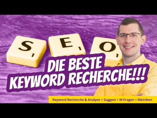 Beste Keyword Recherche 2020: Hinter Keywords stecken Menschen! So gehts richtig!