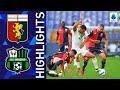 Genoa 2-2 Sassuolo | Scamacca gets off the mark for Sassuolo | Serie A 2021/22