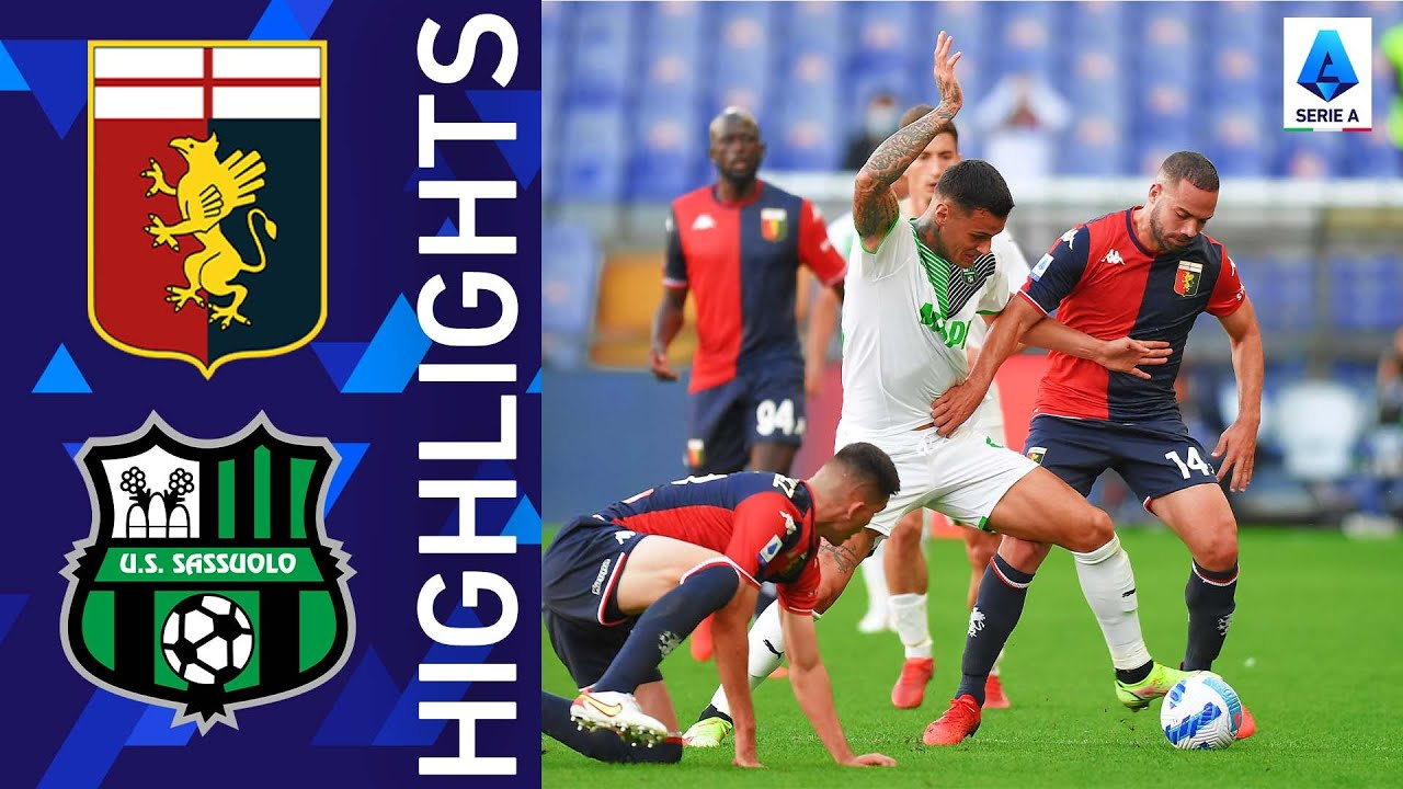 Genoa 2-2 Sassuolo   Scamacca gets off the mark for Sassuolo   Serie A 2021/22