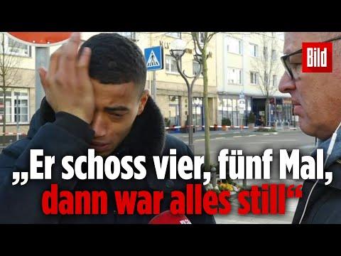 Augenzeuge Pieter erzählt, wie er den Terroranschlag von Hanau überlebt hat
