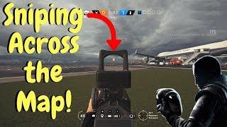 Shotgun Sniping w/ Vigil - Rainbow Six Siege (TTS Gameplay)