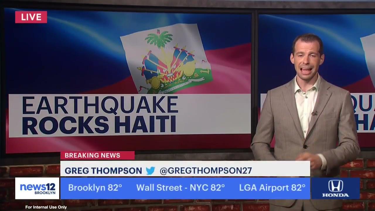Hundreds Dead After Powerful Earthquake Hits Haiti