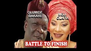 LATE MOJI OLAIYA  LATE OLUMIDE BAKARE IN BATTLE TO FINISH  IKU OROGUN
