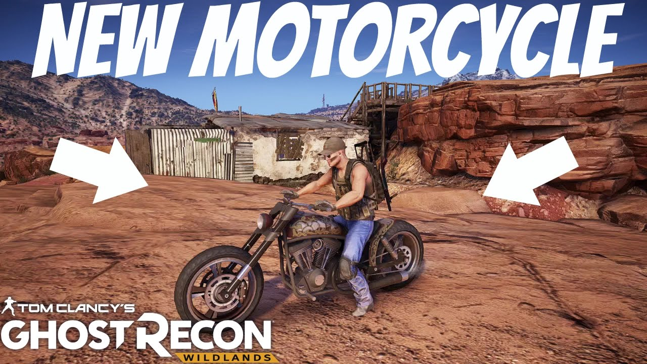 Ghost Recon Wildlands New Motorcycle In Narco Road Dlc Youtube