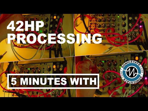 FIVE MINUTES WITH  42HP Processing Digitakt